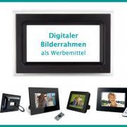 Digitale Fotorahmen als Werbemittel