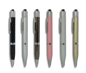 Power Bank Pen -- 3in1 Kugelschreiber mit Powerbank Zusatz Akku 650 mAh