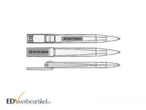 USB Kugelschreiber Slim, oder: Wie Ihre Schublade Ihnen zeigt, auf was es bei Werbekugelschreibern ankommt