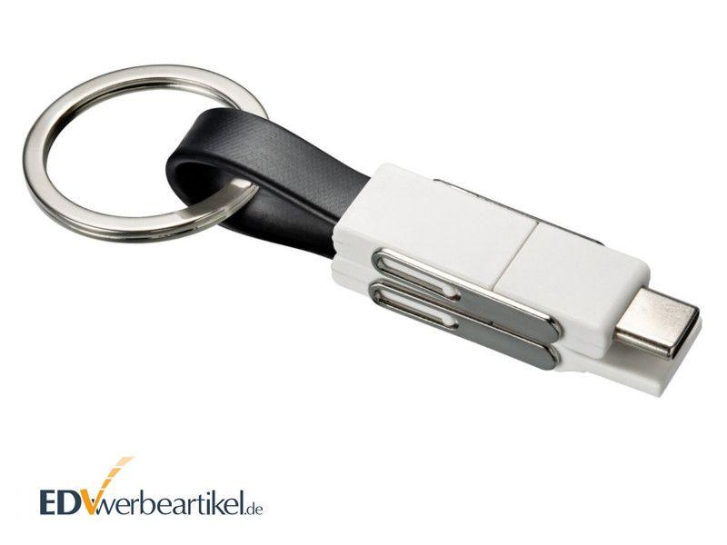 2A Mini USB Schnellladekabel als Werbemittel mit Logo