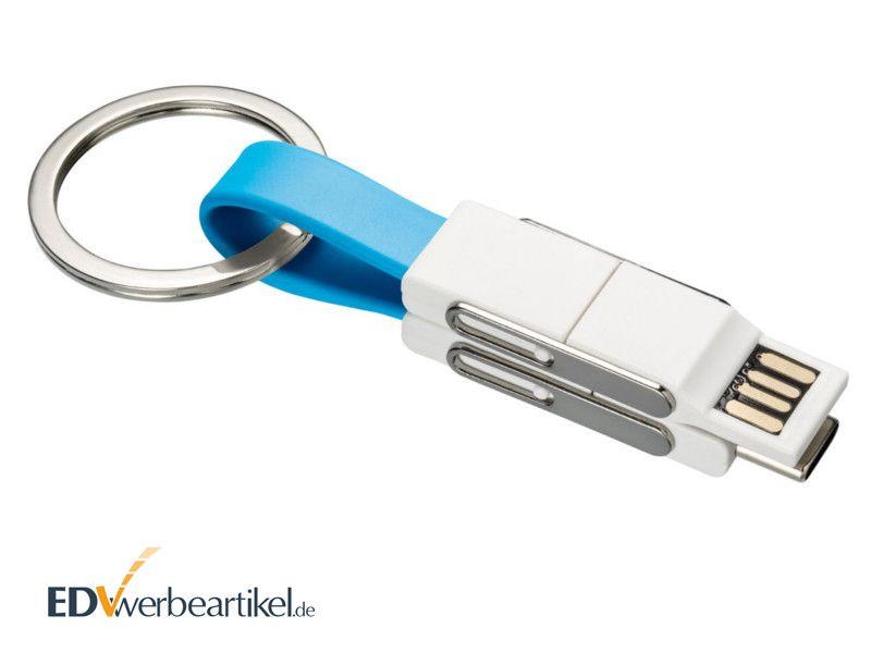 4in1 USB Typ A Schnellladekabel 2A als Werbegeschenk