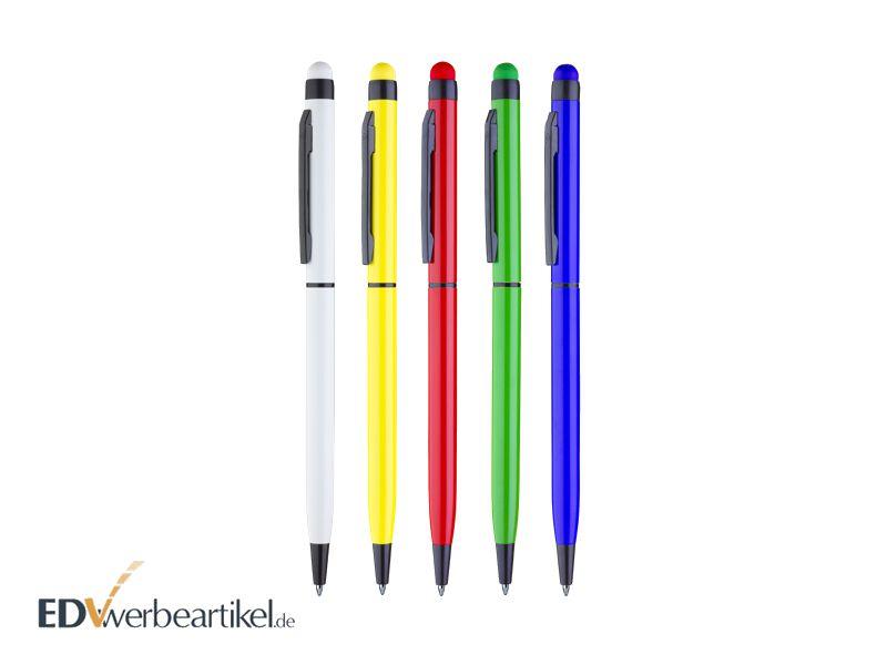 Kugelschreiber Werbeartikel mit Touchpen und Logodruck