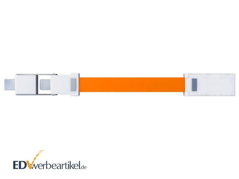 3in1 Mini Ladekabel mit Logo als Schlüsselanhänger BIRDY