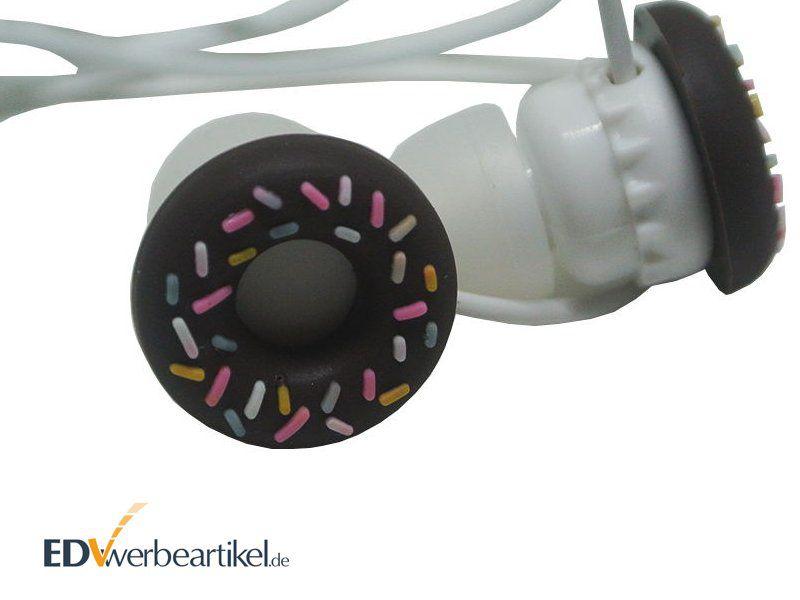 3D Sonderanfertigung Werbeartikel Kopfhörer Donut