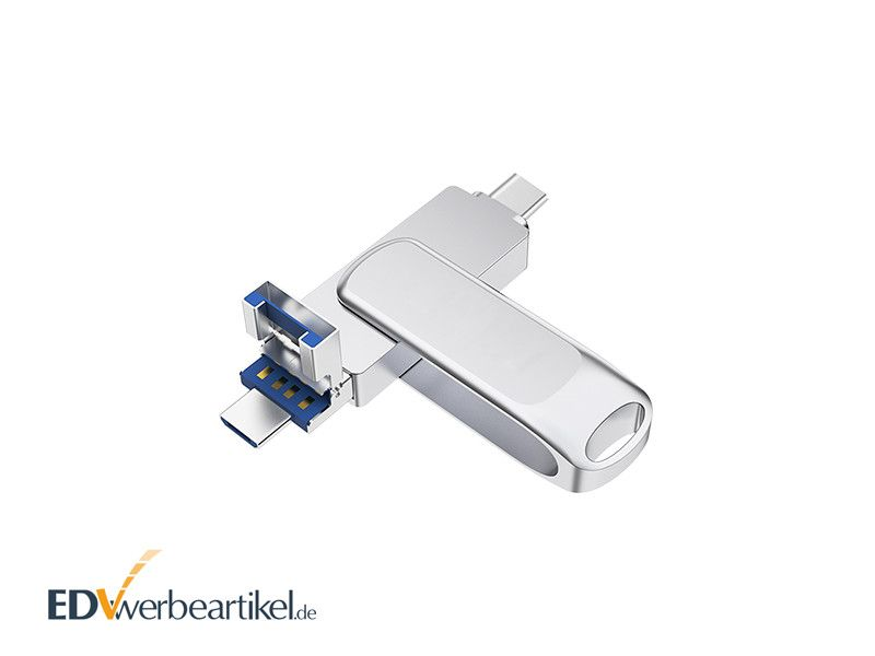 3in1 micro USB Stick Type-C SPEEDY bedrucken