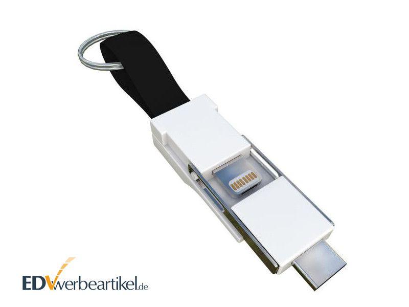 3in1 Mini Ladekabel Schlüsselanhänger BIRDY