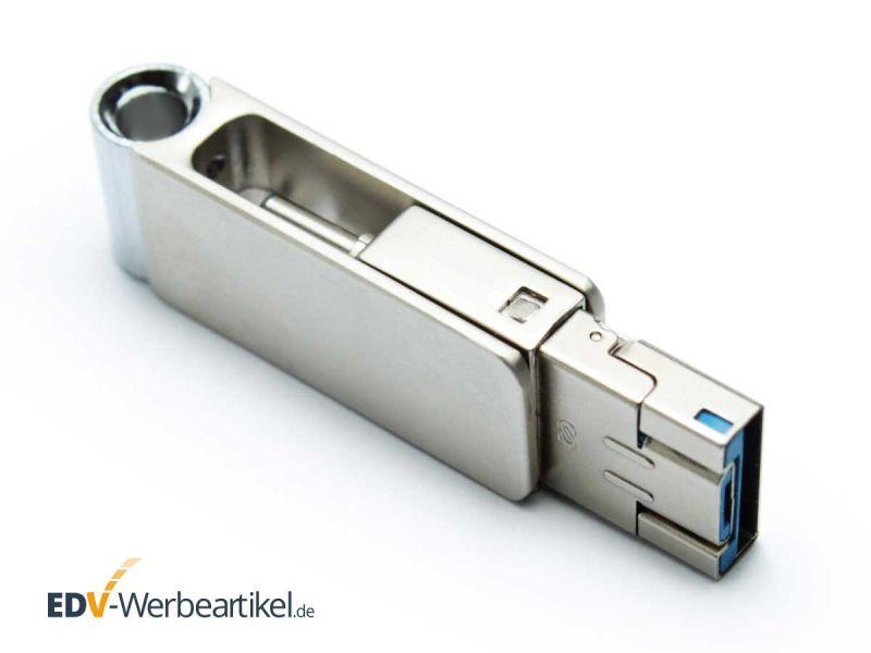 mini USB Stick aus Metall als Werbeartikel mit Ihrer Werbung