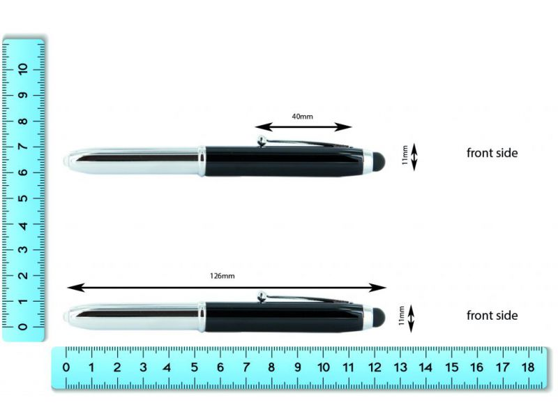 3in1 Touchpen mit Lampe