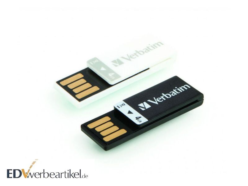 USB Stick Clip-it Verbatim als Werbeartikel