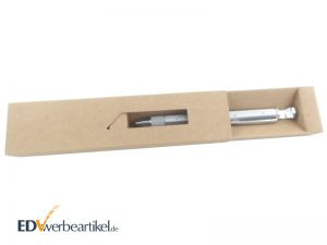 8-in-1 Multifunktions-Kugelschreiber in Geschenkverpackung Etui aus Karton