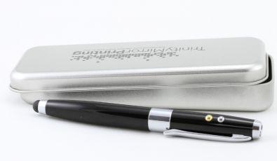 Alternative zu Kugelschreiber Werbeartikel: USB Kugelschreiber mit Touchpen und Laserpointer