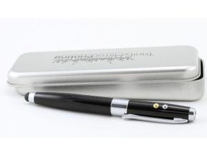 USB Pen Laserpointer - Werbe Kugelschreiber mit Geschenkbox