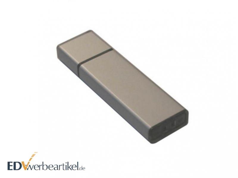 Werbegeschenk USB Stick - Aluminium - mit Firmenlogo Gravur
