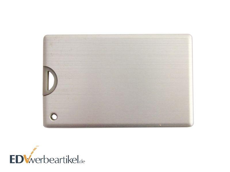 USB CARD Aluminium Visitenkarte als Werbemittel