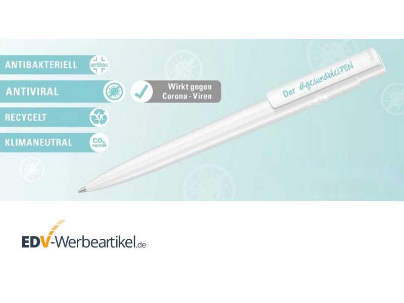 Kugelschreiber rPET VIRUCIDE - antibakteriell, antiviral, recycelt, klimaneutral