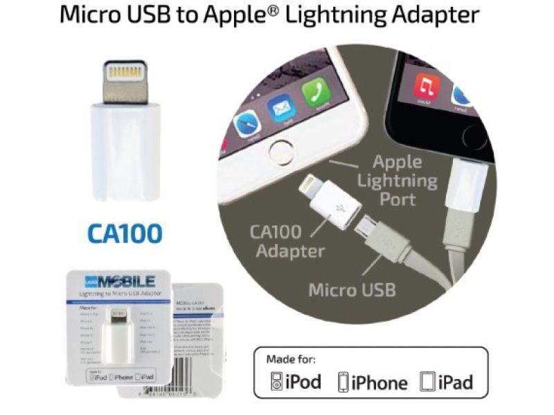 Lightning auf Micro USB Kabel als Werbegeschenk