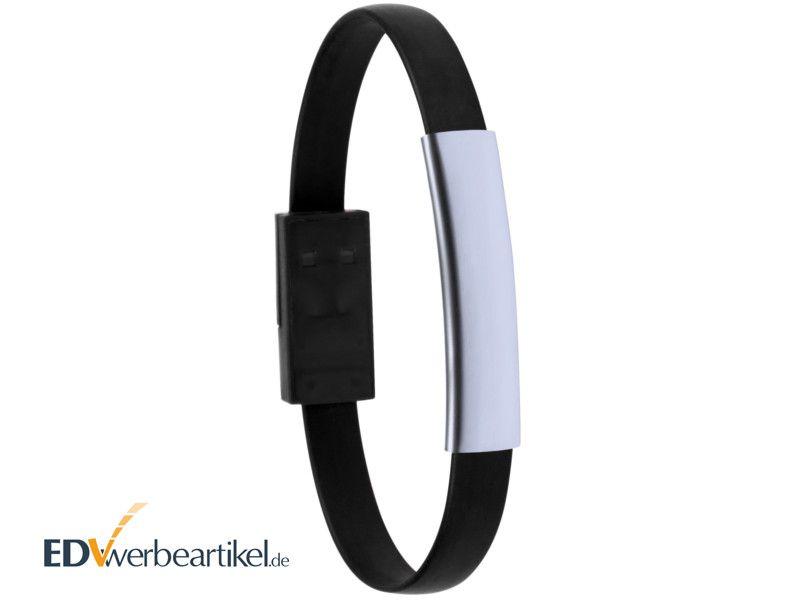 USB Ladekabel Armband gravieren