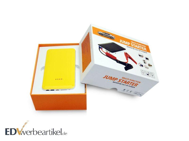 Verpackung Pannenset Powerbank Jump Starter Motorstart
