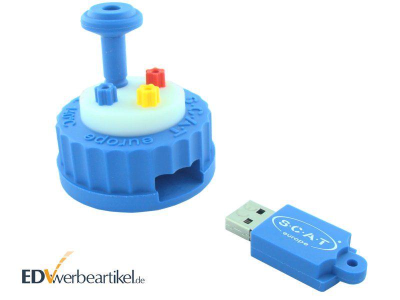 Bedruckte USB Sticks mit Logo günstig - 3D Sonderform