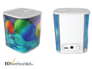 Bluetooth Lautsprecher bedrucken mit Logo WRAPPED