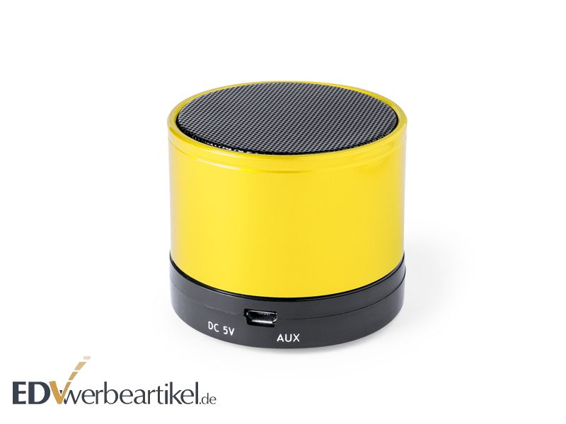 Bluetooth Lautsprecher CLASSIC yellow