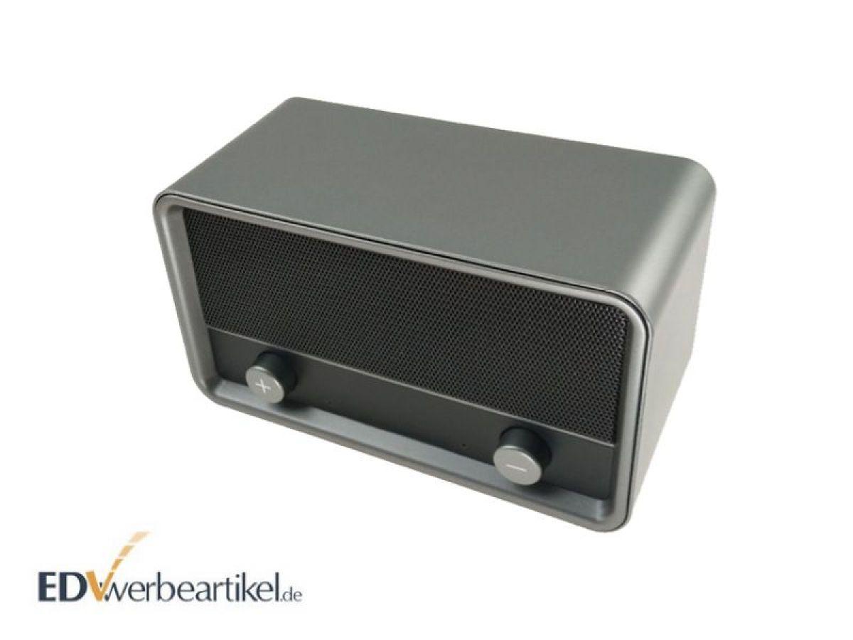 bluetooth lautsprecher im vintage retro style. Black Bedroom Furniture Sets. Home Design Ideas