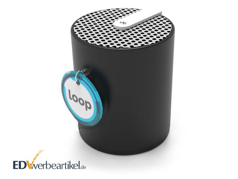 Bluetooth Lautsprecher POP mit Logo als Werbemittel