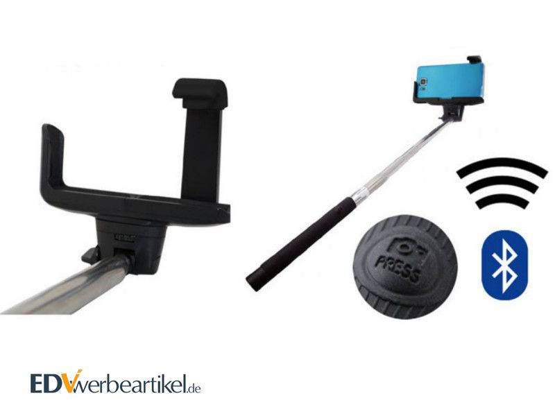 Bluetooth Selfie Stick als Werbeartikel EASY