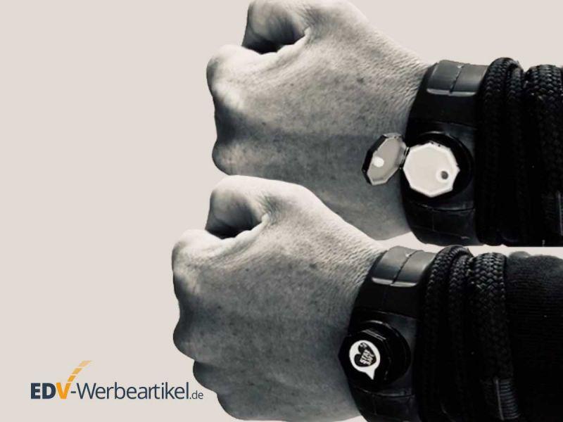 Desinfektionsmittelspender Armband WRISTLET