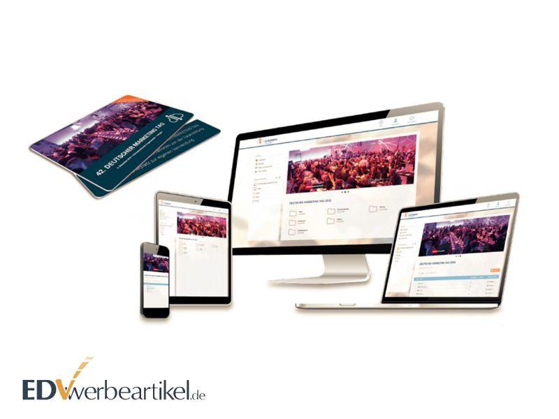 Universaler Webkey mit digitaler Visitenkarte - Event