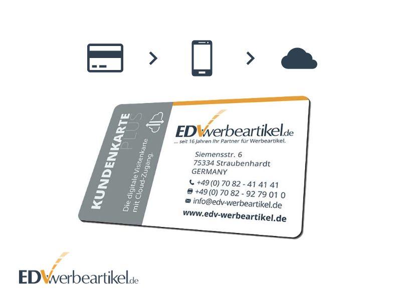Digitale Visitenkarte WEBKEY mit Cloud Speicher