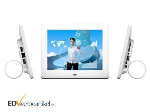 Digitaler Bilderrahmen Werbegeschenk bedrucken - mit Logo oder Firmenlogo als Werbeartikel