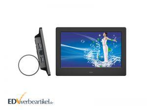 Digitaler Bilderrahmen Werbegeschenk mit Videofunktion - Werbeartikel mit Logo bedrucken
