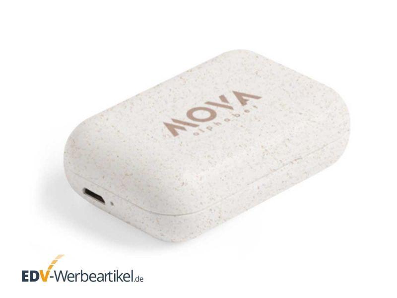 Bluetooth Kopfhörer Weizenstroh Business DISCREET