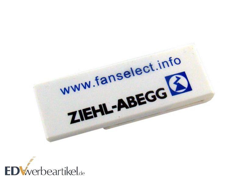 Werbeartikel USB Klammer mit Logo