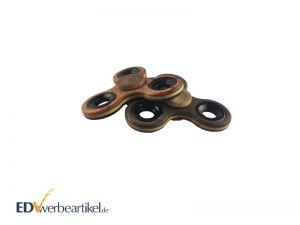 Fidget Spinner aus Holz gravieren - Werbeartikel mit Logo
