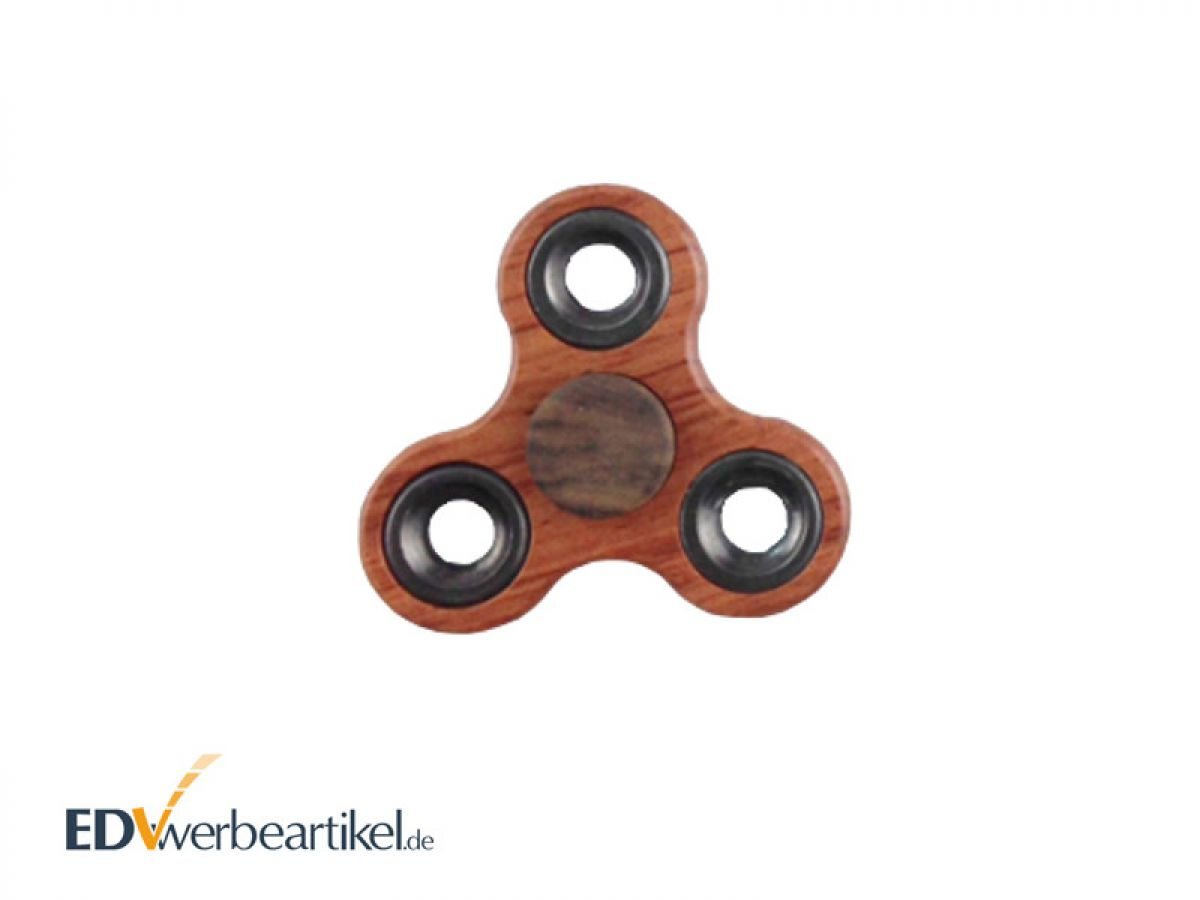 fidget spinner als werbeartikel aus holz mit logo gravieren. Black Bedroom Furniture Sets. Home Design Ideas