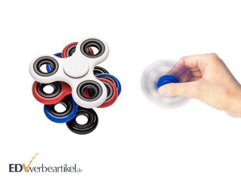 Fidget Spinner Werbeartikel mit Logo bedrucken - Handkreisel