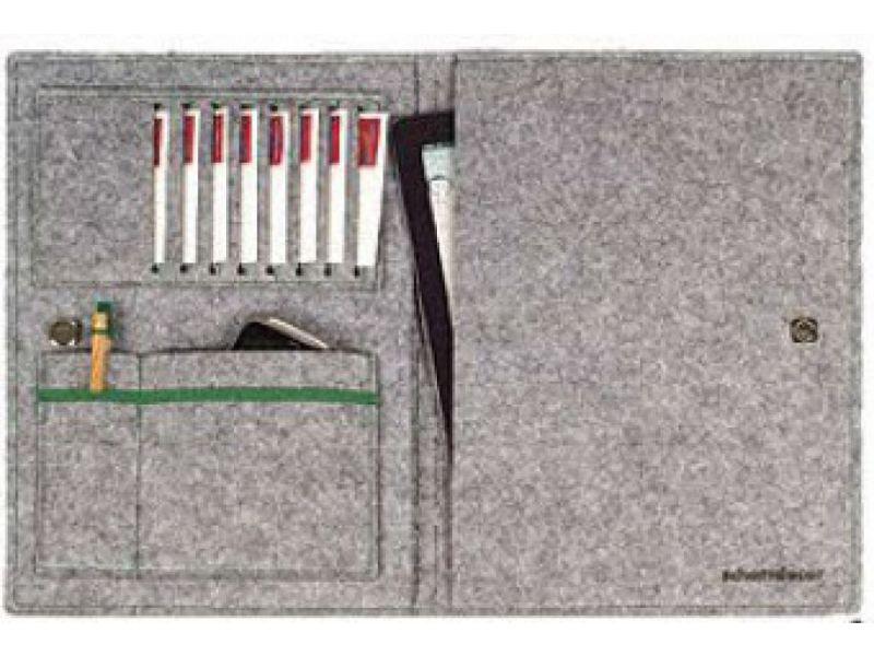 Filzhülle in einfacher Ausführung für Tablet oder iPad mit Logodruck