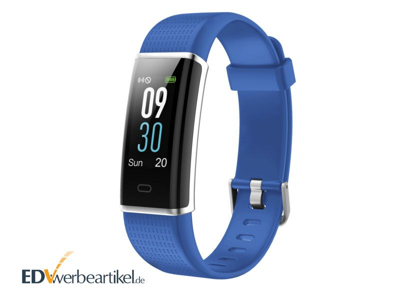 Fitness Tracker mit Farbdisplay als Werbeartikel