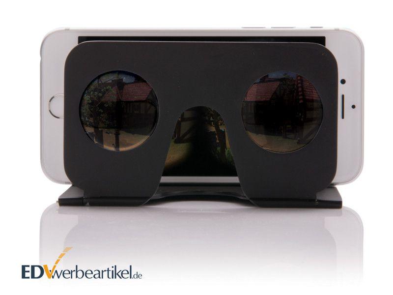 Flache Mini VR Brille mit Logo als Werbemittel