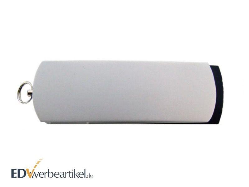 USB Stick Flip Twister Weiß geschlossen - Werbeartikel