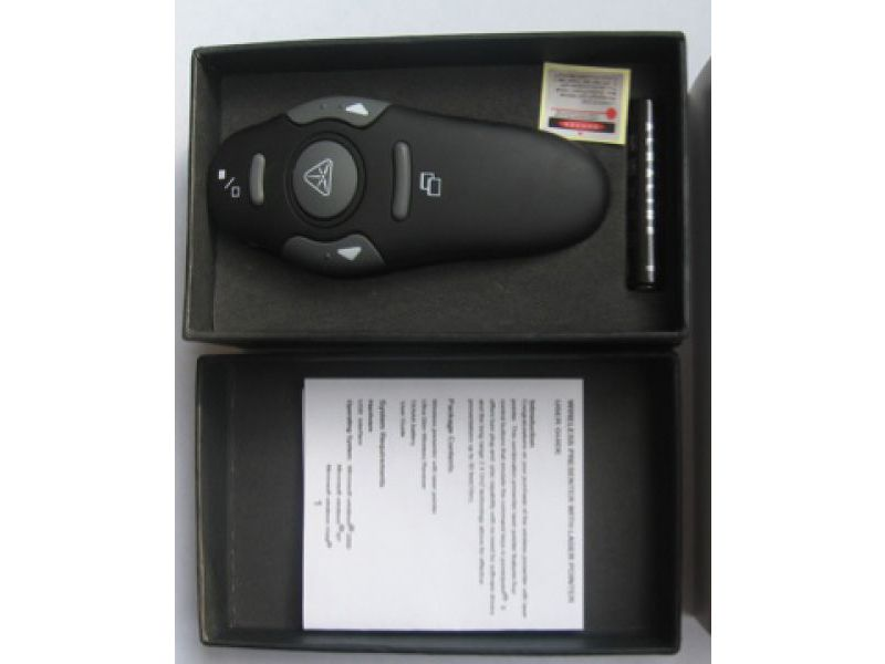RF Wireless Presenter in Verpackung