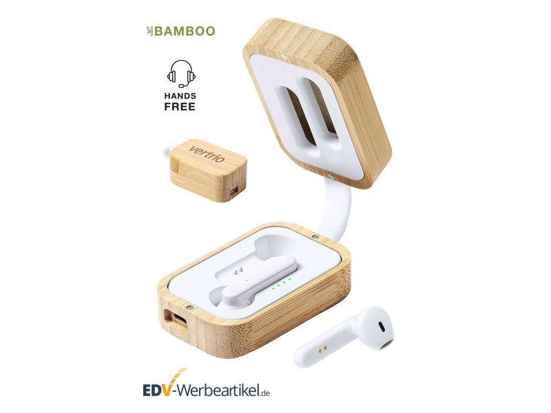 BAMBOE Bluetooth Kopfhörer Werbeartikel