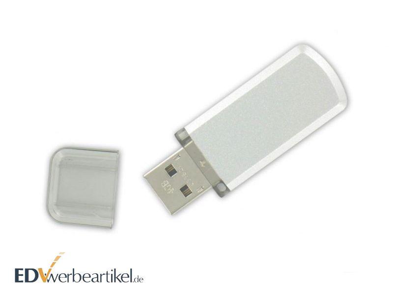 USB Stick mit Logo bedrucken - Weiss