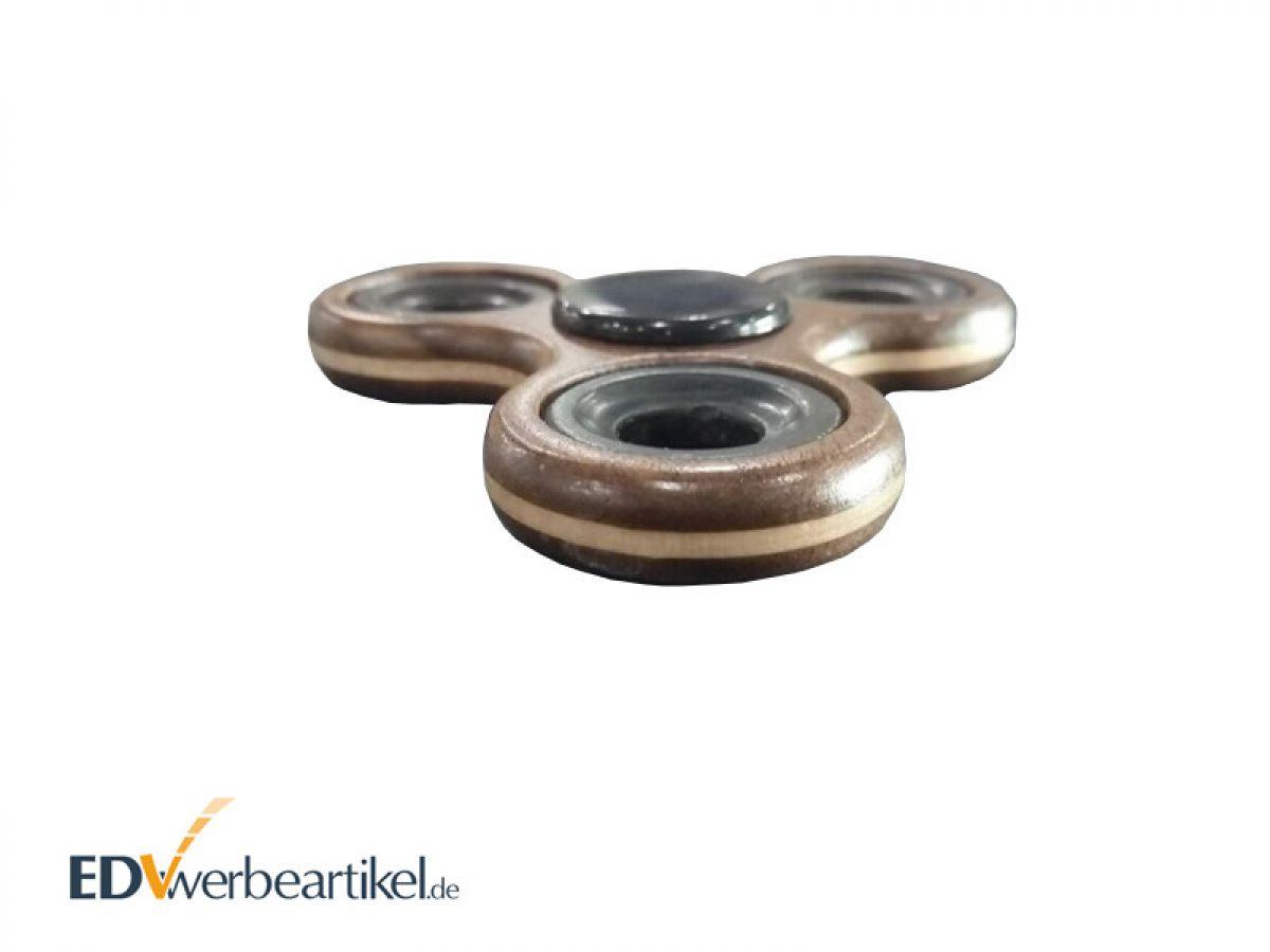 fidget spinner als werbeartikel aus holz mit logo gravieren. Black Bedroom Furniture Sets. Home Design Ideas
