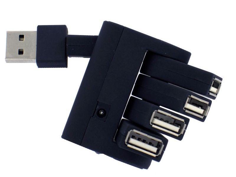 4 Port USB Hub 2.0 mit Ihrem Logo als Werbeartikel