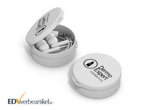 In-Ear Ohrhörer STEREO mit Kunststoff-Box