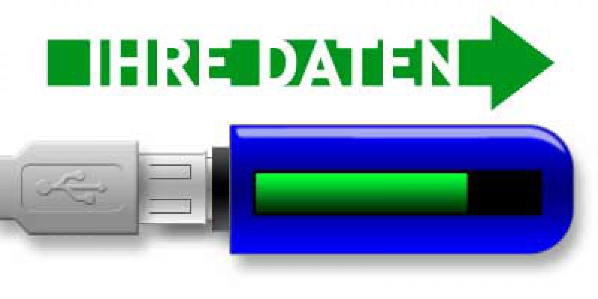 Ihre Daten auf Ihrem USB-DatentrÀger