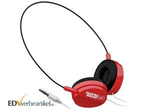 Stereo Kopfhörer bedrucken TRAVEL